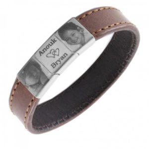 stoere armband met foto