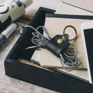 Sleutelhanger met kabelorganizer