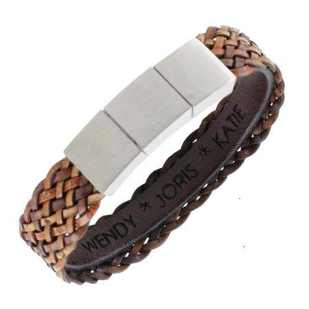 ba0635_gevlochten_leren_armband_heren_met_personalisering_b1