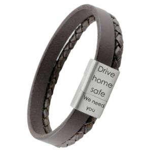 combi armband met gravering