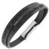 n-2-7-1 toffe armband met gravure-zwart1