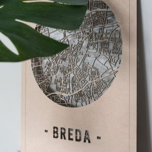 stadskaart Breda
