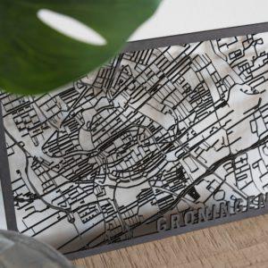 stadskaart Groningen