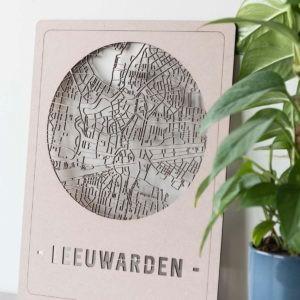 stadskaart Leeuwarden
