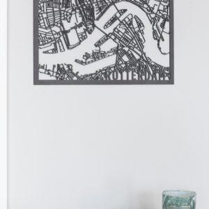 stadskaart Rotterdam