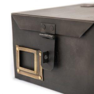 metalen kistje