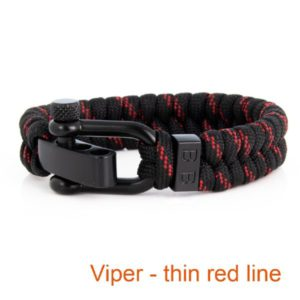 Gevlochten_Paracord_Armband_Viper