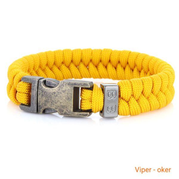 Gevlochten_Paracord_Armband_Viper_oker_tn
