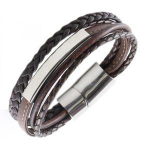 personaliseerbare armband met graveerplaat