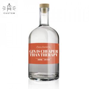 gin met eigen naam of tekst
