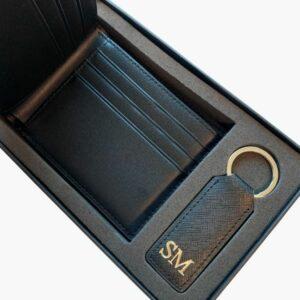 portemonnee+sleutelhanger set
