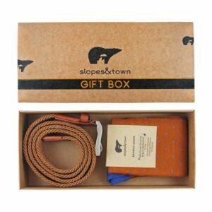 giftbox riem & sokken david
