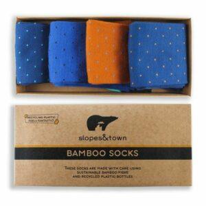 bamboe sokken dots