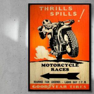 print op hout motorcycle races