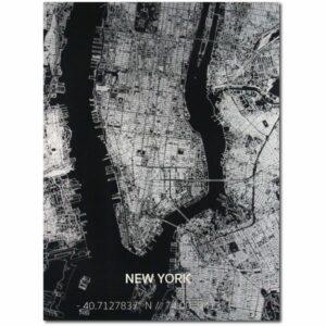aluminium citymap new york