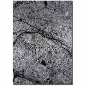 aluminium citymap parijs