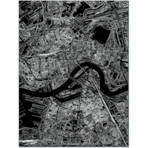 aluminium citymap rotterdam