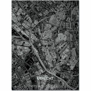 aluminium citymap utrecht
