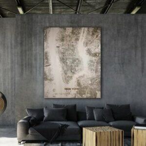 houten citymap new york