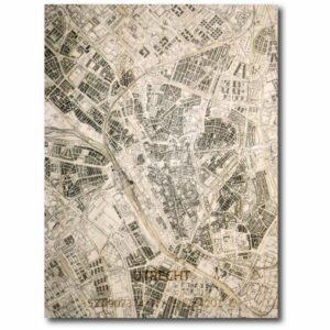 houten citymap utrecht