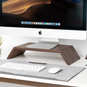 houten monitorstandaard